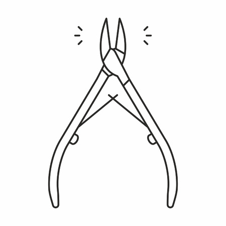cuticle: Cuticle nipper icon
