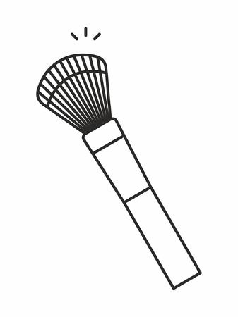 Makeup Brush icon Çizim