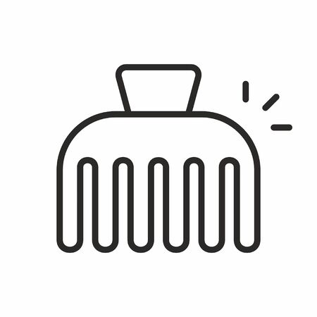 drawing pin: Hairpin vector icon