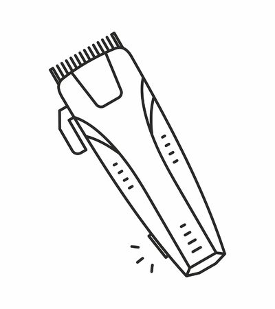 electric shaver: Electric shaver icon