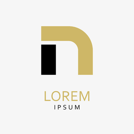 N Letter Logo. Vector Icon