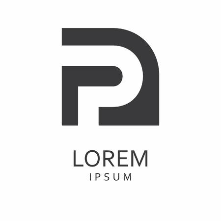 P Letter Logo. Vector Icon