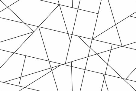 Geometric seamless pattern with linear 일러스트
