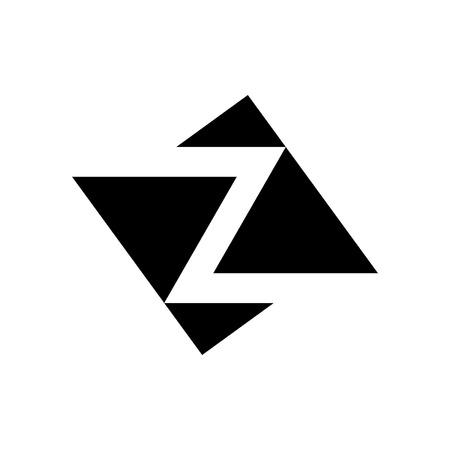 Letter Z logo. Icon design. Template elements - vector sign Logó
