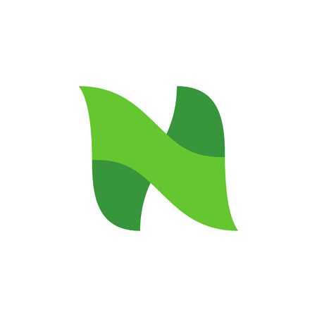 Letter N logo. Icon design. Template elements - vector sign