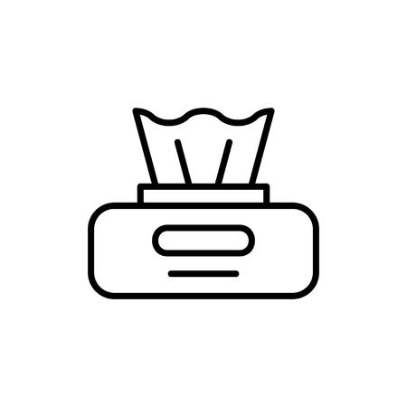 Wischpaket-Symbol. isoliert auf weißem Hintergrund