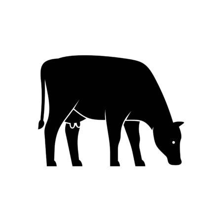 Cow Icon design. Template elements Фото со стока - 128946138