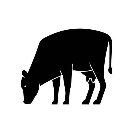 Cow Icon design. Template elements Фото со стока - 128946144