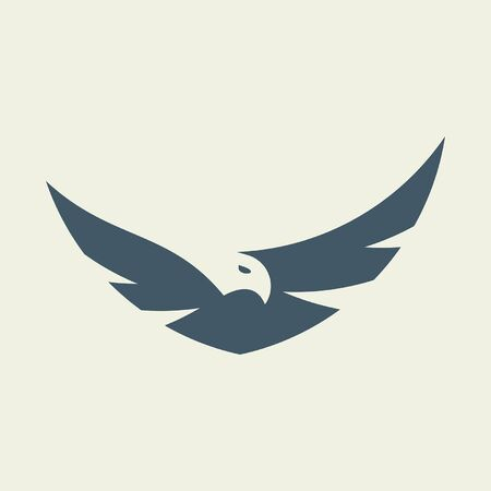 Eagle Icon design. Template elements Banque d'images - 128946909