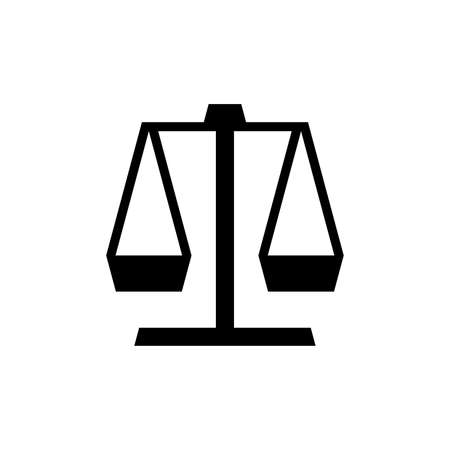 Justice law . Icon design. Template elements