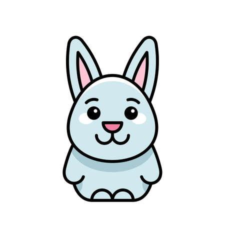 Hare icon. Icon design. Template elements 矢量图像