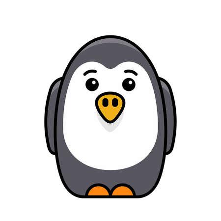 Penguin icon. Icon design. Template elements 矢量图像