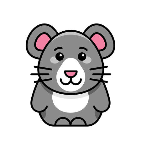 Mouse icon. Icon design. Template elements