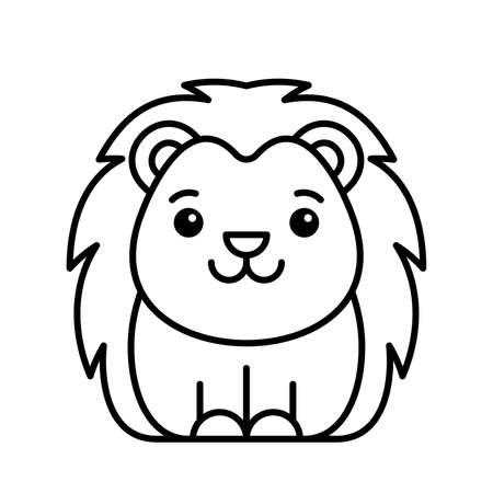 Hedgehog icon. Icon design. Template elements