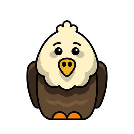 Eagle icon. Icon design. Template elements 矢量图像