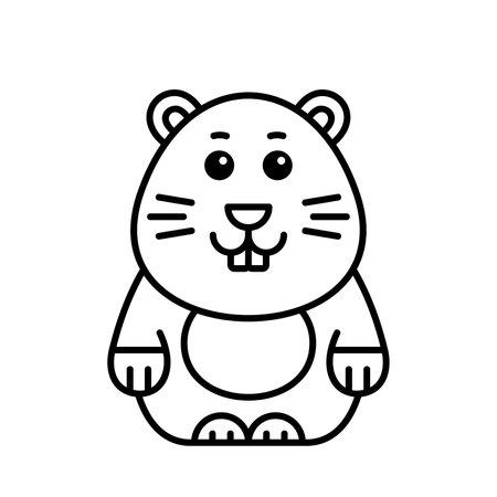 Mole icon. Icon design. Template elements