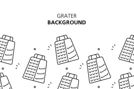 Grater background. Icon design. Template elements. isolated on white background