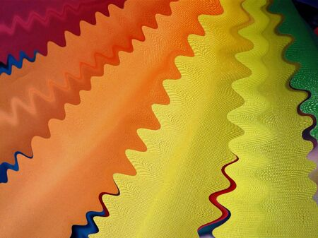 stripping: Texture of colorful waves
