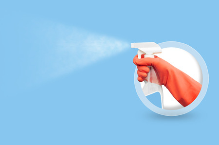 Cleaning Service template Stock Photo