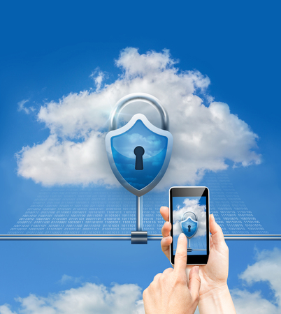Cloud data security and phone security