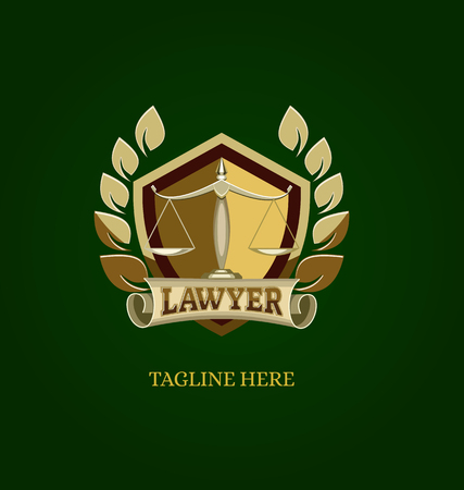 Lawyer, Law, Design Logo Vector