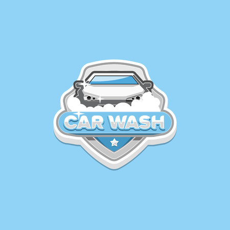 car wash: Car wash logo Illustration