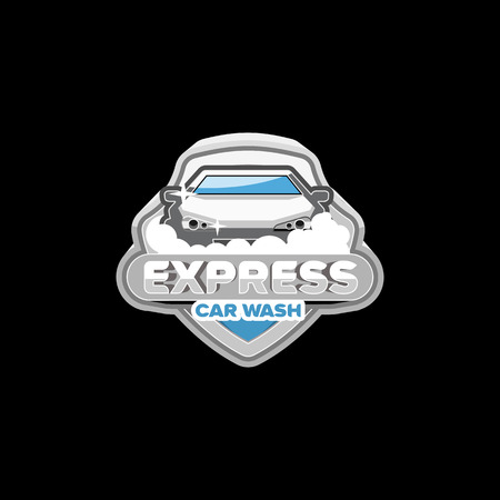 car wash: EXPRESS Car wash logo