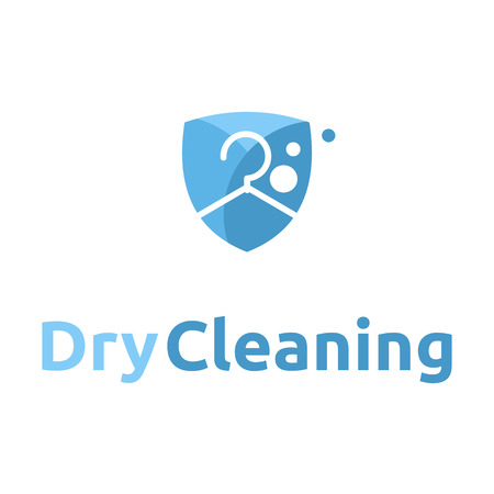 dry cleaning logo icon