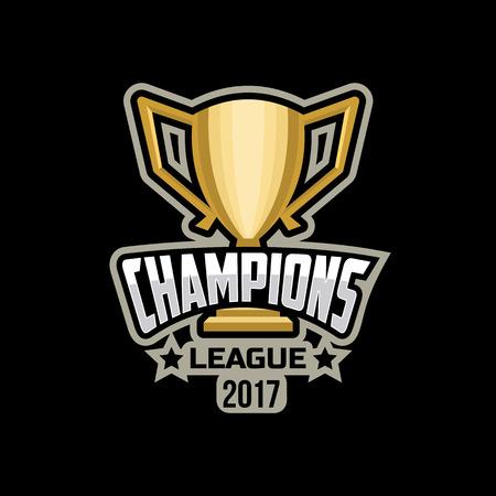 Champions sports league logo emblem