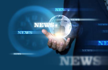 screensaver: News screensaver