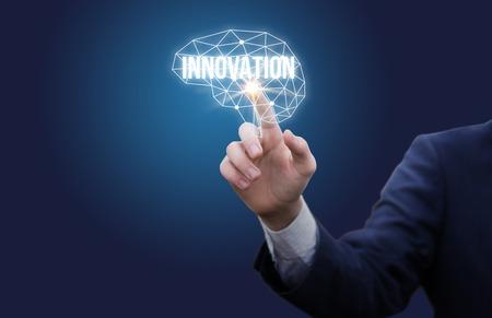 Inclusief innovatief denken. Stockfoto