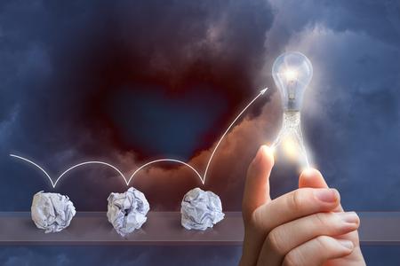 emergence: Process emergence of ideas.