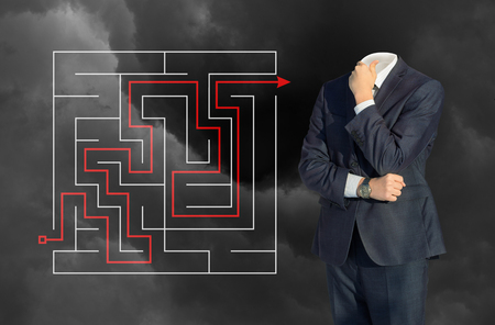 cut through the maze: In the business solution.