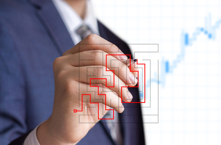 cut through the maze: Concept in business decision.