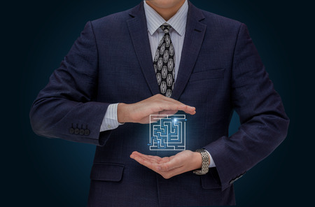 cut through the maze: Protection solutions in business.