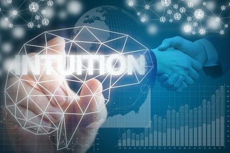 percepción: La intuición en negocios rentables en los negocios.