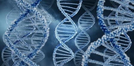 DNA molecole illustrazione di progettazione concetto sfondo illustrazione. Archivio Fotografico - 71879993