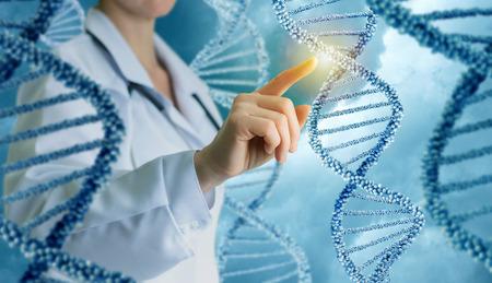 Innovative in science and medicine concept design.