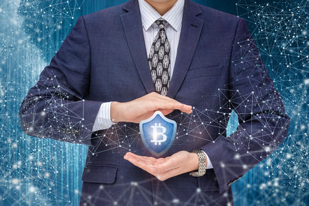 international internet: Protection of bitcoins in the network concept design.