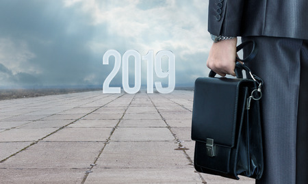 New 2019 year new path in the business.