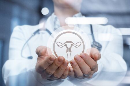 The concept of supporting the health of the woman's uterus .