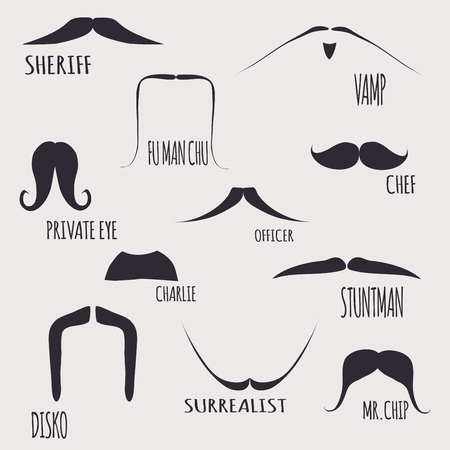 mustaches: Mustaches Set