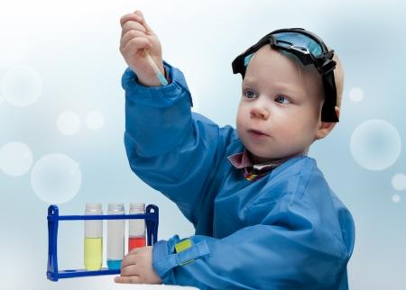 Little child - the chemist Stock Photo - 18920232