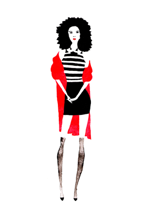 colore: fashion girl