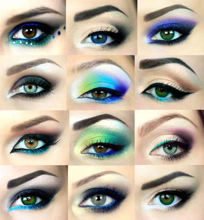 eyeshadow: Beautiful eyes