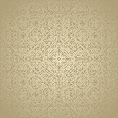 colour in: Seamless background of gold color in the style of baroque
