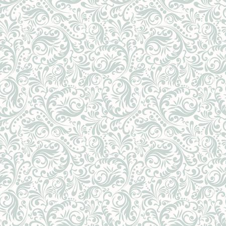 Fundo sem costura no estilo de Damasco. Ornamento vintage. Use para papel de parede, impressão no papel de embalagem, têxteis.