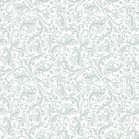 Seamless background in Damascus style. Vintage ornament. Use for wallpaper, printing on the packaging paper, textiles. Ilustração