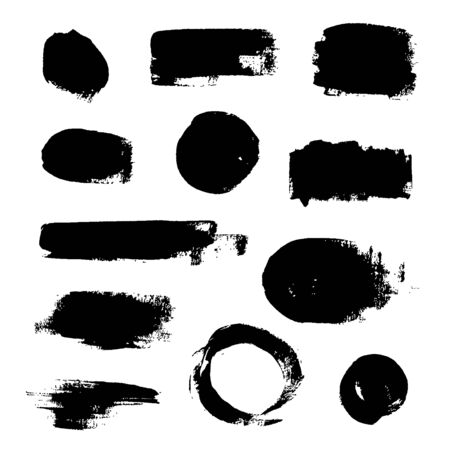 Ink Splash Backgrounds. Grunge Texture . Illustration