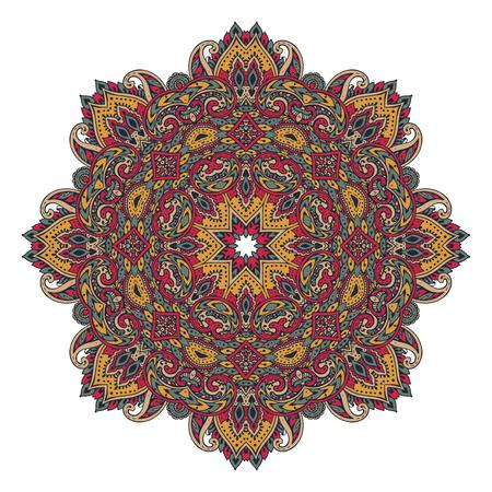 Vector mandala pattern of henna floral elements Stock Vector - 96800611